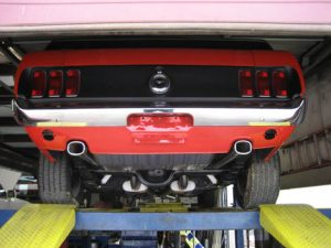 Mustang Tailpipes