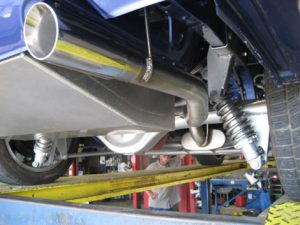 Stainless Exhaust And Muffler