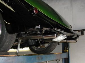 Ford Coupe Tailpipe